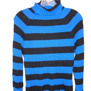 INC Ribbed Pullover Sweater With Turtleneck Collar